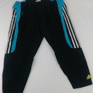 Adidas Pants Formotion 3 Stripe Cropped Pants